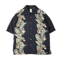 Jamaica Jaxx / Hawaiian Open Collar Shirt / Black / Used
