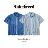 INTERBREED(インターブリード)Indigo Zip Shirts(2カラー)IB20SS-12