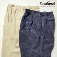 INTERBREED(インターブリード)Cracked Corduroy Trouser(2カラー)IB20AW-24