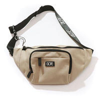 DOPE(ドープ)Box Logo Body Bag Tan