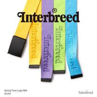 INTERBREED(インターブリード)Spring Tone Logo Belt(4カラー)IB20SS-34
