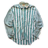 Classic Levi's/Swich Stripe Shirts/Lt .Green/Used