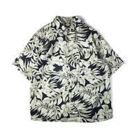 Tommy Bahama / Hawaiian Open Collar Shirt / Navy / Used