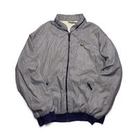 LACOSTE/Stripe Drizzler Jacket/Navy/Used