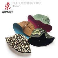 GRAMICCI(グラミチ)SHELL REVERSIBLE HAT(4カラー)シェル リバーシブル ハット