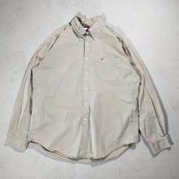 90's Tommy Hilfiger/B.D Shirts/Sand/Used