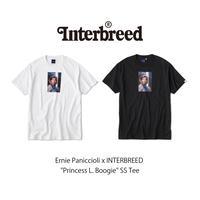 """INTERBREED(インターブリード)Ernie Paniccioli x INTERBREED """"Princess L. Boogie"""" SS Tee(2カラー)IB20SS-22"""
