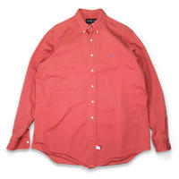 Polo by Ralph Lauren /Button Down Shirts/Salmon Pink/Used