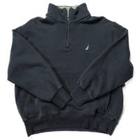 NAUTICA /Half Zip Fleece/Black/Used