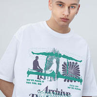 【UNISEX】DOMINANT(ドミナント)OUT OF BODY T-SHIRTS (WHITE) DMNT20SF-0001-20【正規品】ユニセックス