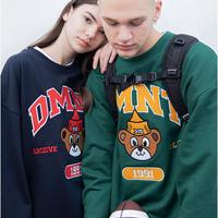 【UNISEX】DOMINANT(ドミナント)TEDDY SWEAT SHIRT(2カラー) 商品番号 DMNT20SF-0001-4【正規品】ユニセックス