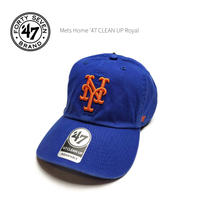 '47BRAND (フォーティーセブン ブランド)ニューヨークメッツ  Mets Home '47 CLEAN UP Royal