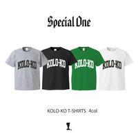 Special One(スペシャルワン)KOLO-KO T-SHIRTS(4カラー)