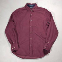 NAUTICA /Corduroy Shirts/Burgundy/Used