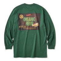 "INTERBREED(インターブリード)RAW × INTERBREED ""RAW Organic LS Tee"" / Forest Green"