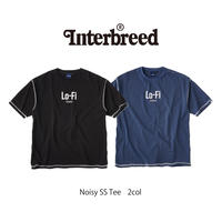 INTERBREED(インターブリード)Noisy SS Tee(2カラー)IB20SS-26