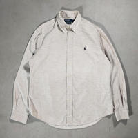 Polo by Ralph Lauren /B.D Corduroy Shirts/Beige/Used