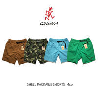 GRAMICCI(グラミチ)SHELL PACKABLE SHORTS(4カラー)GUP-20S037