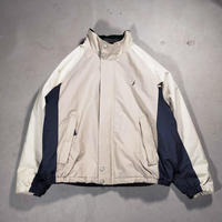 NAUTICA /Swing Top Type Stand Jacket/Sand/Used