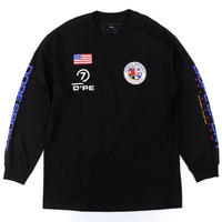 DOPE(ドープ)World Wide L/S Tee Black
