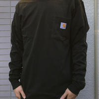 Carhartt (カーハート)Workwear Long-Sleeve Pocket T-Shirt(Peat)ポケット ロングスリーブ TEE