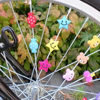 自転車用スポデコ スポークデコレーション かわいい  川住製作所 SD101~112