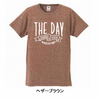 THE DAY T SHIRT 3rd(ブラウン・グレー・グリーン)