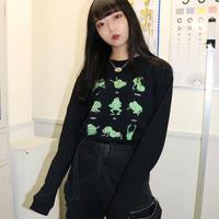 【Lサイズ】超濡ロンT(black)