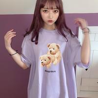 【PURPLE】なにも卑猥な意味はありませんTシャツ