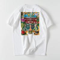 首里城チャリティTシャツ 白  バックプリント