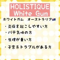 HOLISTETIQUE White Gum 380g
