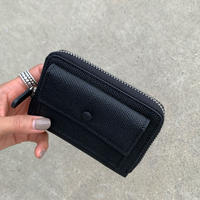 leather mini ウォレット