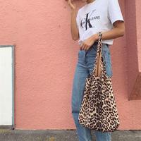レオパードshoppers bag (10月中旬発送分)