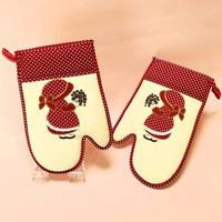 女の子の刺繍がかわいい❤ミトン2枚1セット