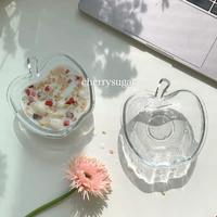 林檎のガラス皿