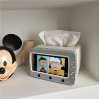 TV型 ティッシュボックス