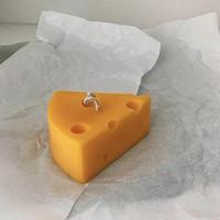 大きなチーズソイキャンドル