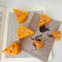 チーズ キャンドル 2pieace set