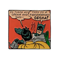 Batman Gesha Pin