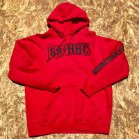 HAVOC HAWAII CLOTHING   パーカー レッド/ブラック