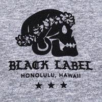 BLACK LABEL  HI   スカル T-shirts グレー/ブラック