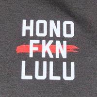 BLACK LABEL  HI   HONO FKN LULU T-shirts ブラック/ホワイト