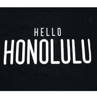 THE FILM  HELLO HONOLULU Tshirts  TSHIRTS  ブラック/ホワイト
