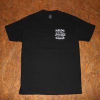 HAVOC HAWAII CLOTHING     OUTTA LUCK   Tshirts  ブラック/ホワイト