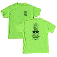 GOOD TIMES ORIGINALS ハワイアン ワークTシャツ  ネオンイエロー/ブラック