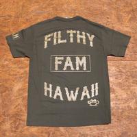 FILTHY HAWAII   Filthy Hawaii TSHIRTS カーキ/ゴールド
