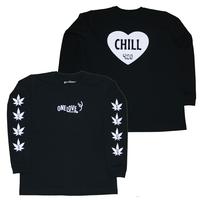 GOOD TIMES ORIGINALS   ONE LOVE ロングスリーブシャツ   ブラック/ホワイト