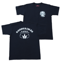 GOOD TIMES ORIGINALS   420 T-shirts   ブラック/ホワイト