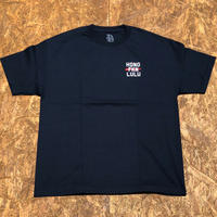 BLACK LABEL  HI   HONO FKN LULU T-shirts ネイビー/ホワイト