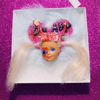 Zombie Barbie Brooch